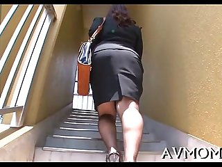 Mother i would like to fuck chick turns herself on