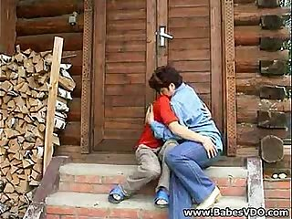 Family Games - Mother and Son