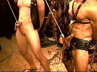 Five man sensual CBT, BDSM orgy, pt 1