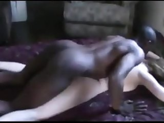 BBC fucks screaming whore in the ass and she begs for more