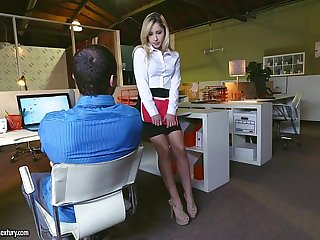 Goldie Rush - Footsie In The Office