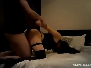 Real Chinese hooker gets fucked in a hotel