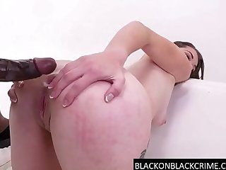 Hardcore ass to throat by a BBC
