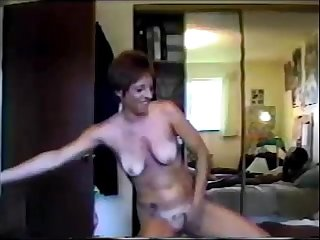 Husband filming his wife creampied by black stud