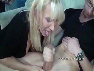 Guy fucks his hot and nasty german mom