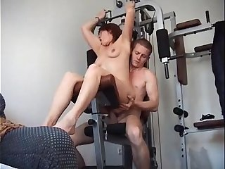 Anal Fuck in the Gym - www.extraxporn.com
