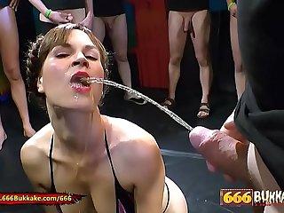 Sex and Piss for Hottie Luisa - 666Bukkake
